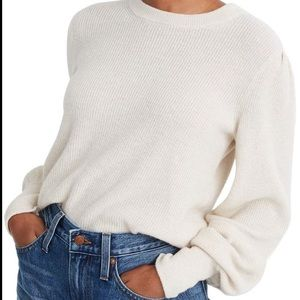 Madewell Baybrook Pullover Sweater